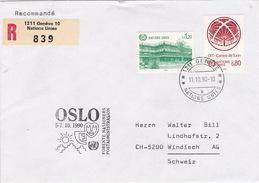Brief In Die Schweiz (br2356) - Genf - Büro Der Vereinten Nationen
