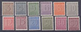 SBZ MiNr. 126-137X ** - Soviet Zone