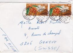 Brief In Die Schweiz (br2363) - Gabun (1960-...)