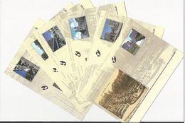 BELG.2000 BK 79-84 - BRUSSEL, VROEGER EN NU - BRIEFKAARTEN - Stamped Stationery