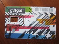 Giffgaff GSM Sim Card, Frame Only,no Chip - Unknown Origin