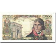 France, 10,000 Francs, 10 000 F 1955-1958 ''Bonaparte'', 1956, 1956-03-01 - 1871-1952 Circulated During XXth