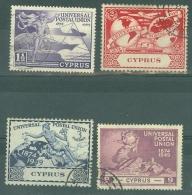 Cyprus: 1949   U.P.U.      Used - Cyprus (...-1960)