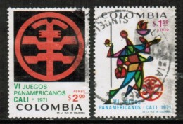 COLOMBIA  Scott # C 542-3 VF USED - Colombia