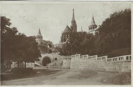 Budapest - Matthias Church With Fisher Bastion.  Sent To Denmark 1925.  Hungary.  S-2973 - Hungary
