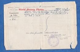 Document Ancien - NANTES - Commissariat De Police Du 2e Arrondissement - Incendie à L' Hôtel PRINTANIA - 1941 - Documents Historiques