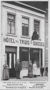 Lessines Hôtel Des  Trois Suisses - Rue De La Station (propr. Victor Lion) (REPRODUCTION !!!!!) - Lessines