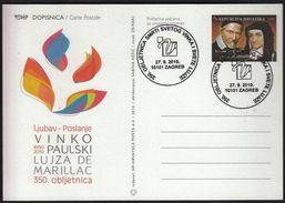Croatia Zagreb 2010 / Vinko Paulski (St. Vincent De Paul), Louise De Marillac, 350.death Ann. / Christianity - Croacia