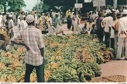 CARTOLINA - POSTCARD - KENIA - AFRICAN MARKET - DAR ES SALAAM - Kenia