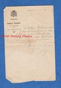 Document Ancien - RENNES - Compagnie Des Sapeurs Pompiers - Attestation Du Capitaine DUBOIS - 1927 - Henry Jean PELTIER - Documents Historiques