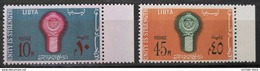 TS28 -  LIBYA 1968 Mi. 250-251 Complete Set 2v. MNH - Arab Leage - Libia