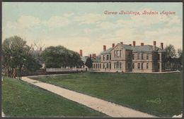 Carew Buildings, Bodmin Asylum, Cornwall, 1909 - Valentine's Postcard - England