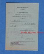 Document Ancien - LAISSEZ PASSER - Directeurs Et Chefs De Bureau - Ministère De L' Air - 1939 - Paris  WW2 Aviation - Historische Documenten