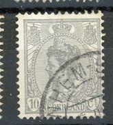 PAYS-BAS :  DIVERS N° Yvert 106 Obli. - 1891-1948 (Wilhelmine)
