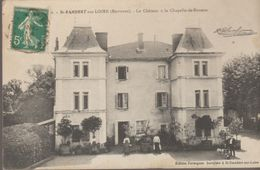 Saint-rambert Sur Loire (environs) Le Chateau A La Chapelle De Bonzon - Saint Just Saint Rambert