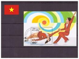 Viêt Nam 1989 Oblitéré - Patinage Artistique - Michel Nr. Bloc 70 (vie004) - Vietnam