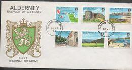 3215 Carta Alderney Bailiwick Of Guernsey  1981 - Alderney