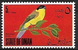 State Of Oman - MNH -1970 - Black-headed Bunting (Emberiza Melanocephala) - Zangvogels