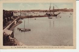 LA TRINITE Sur MER - La Rade Fréquentée Par Tous Les Yachts (SL- 850 ) Neuve - Collection Janot - La Trinite Sur Mer