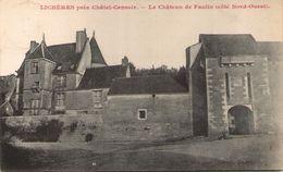 89 - LICHERES, Près Châtel-Censoir - Le Château De Faulin (côté Nord-Ouest) - Andere Gemeenten