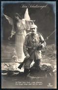 A9199 - Uniform Abzeichen Orden Schutzengel Engel Angel - Gewehr Bajonett 1915 - Ausrüstung