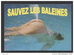 DF / NU / HUMOUR / SAUVEZ LES BALEINES - Humour