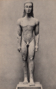 Marble Statue Of A Nude Youth From Attica - Naked Young Man - Sculpture - Metropolitan Museum Art -  2 Scans - Sculpturen