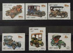 VIETNAM 1984 Veteran Cars. NUEVO - MH * - Coches