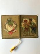 """Calendarietto Barbiere """" Partenze E Ritorni 1918, Ai Colli Fioriti,Milano."""" - Calendari"""