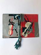 Calendarietto Barbiere Jazz Band Bertelli 1934 - Calendari