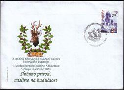 Croatia Karlovac 2010 / Hunting Association Of Karlovac County, Exhibition Of Hunting Heritage, Use Nature, Think On Fut - Croatie