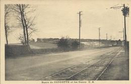 Condette - Route De Condette Et Les Dunes - Altri Comuni