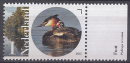Nederland - Flora En Fauna Naardermeer - Fuut - MNH - NVPH 3296 - Periode 2013-... (Willem-Alexander)