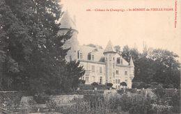 71 - St-Bonnet-de-Vieille-Vigne - Château De Champvigy - France
