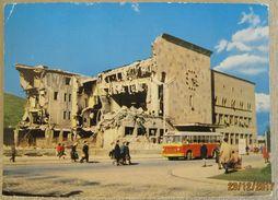 MACEDONIA - SKOPJE NAKON POTRESA 26.07.1963. OLD BUS - Macédoine