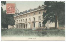 CPA COLORISEE CHATEAU D'ORS, CHATEAUFORT, YVELINES 78 - Autres Communes