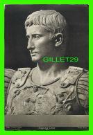 OLD DOCUMENTS - AUGUSTUS CAESAR, BUST - COSMOS PICTURES CO - VATICAN ROME - DIMENSION  13.5 X 20 Cm - - Documents Historiques
