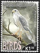 Papua New Guinea - MNH - 2017 - Grey Goshawk (Accipiter Novaehollandiae) - Wrong Name On The Stamp ! - Arends & Roofvogels