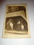 CARTE PHOTO A IDENTIFIER COMMERCE EPICERIE ENFANTS - Cartes Postales