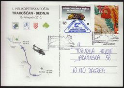 Croatia Trakoscan 2010 / Alpe Adria Youth Philatelic Exhibition / Helicopter Mail - Expositions Philatéliques