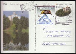 Croatia Trakoscan 2010 / Alpe Adria Youth Philatelic Exhibition / Helicopter Mail - Exposiciones Filatélicas