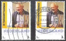 FILATELIE JO TOUSSAINT BEKERTOURNOOI (2x) - Niederlande