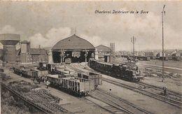 Charleroi - Intérieur De La Gare (belle Animation, Trains, 1907) - Charleroi