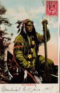 1907 -  SUR CPA - MONTRÉAL  CANADA - Canadian Indians - Pau Puk-Keewis - 1903-1908 Regering Van Edward VII