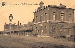 Aarschot Aerschot - Binnenzicht Der Statie Intérieur De La Gare 1919 - Aarschot