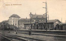 Station De Welkenraedt (animée, 1921, Edit. Jos Poenagen) - Welkenraedt
