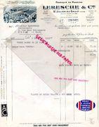 89- SAINT JULIEN DU SAULT-  FACTURE LERESCHE  & CIE -FABRIQUE RASOIRS-VUE USINE-1938 RASOIR RASAGE COIFFEUR COIFFURE - Old Professions