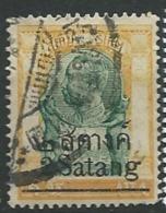Siam  -  Yvert N°  87   Oblitéré  - ABC 24702 - Siam
