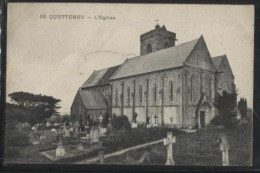 CPA - QUETTEHOU - L'EGLISE - Edition ? - Other Municipalities