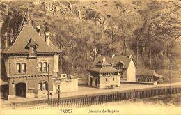 Trooz - Un Coin De La Gare  (Edit R. Cuvelier 1913) - Trooz